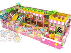 Nhà liên hoàn kẹo trung bình CD-M0021