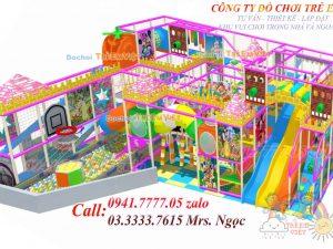 Nhà liên hoàn kẹo CD-0008