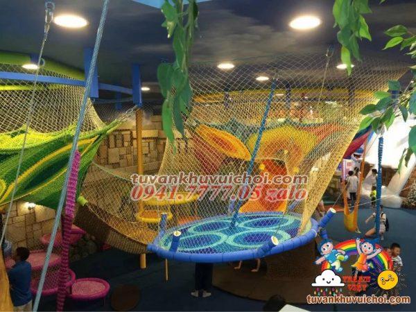 Nhà liên hoàn lưới leo trèo 012