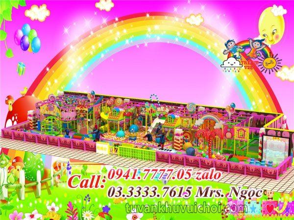 Nhà liên hoàn kẹo CD-0011