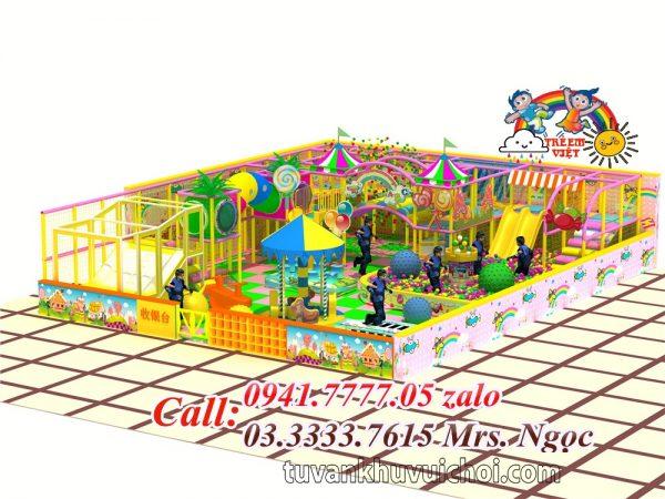 Nhà liên hoàn kẹo CD-0013