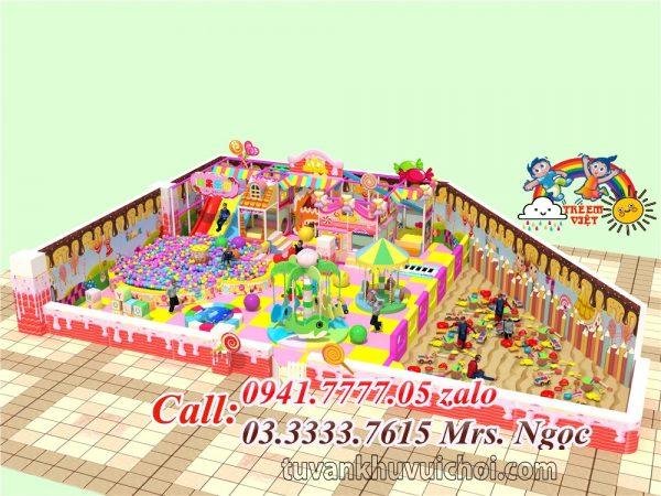 Nhà liên hoàn kẹo CD-0014