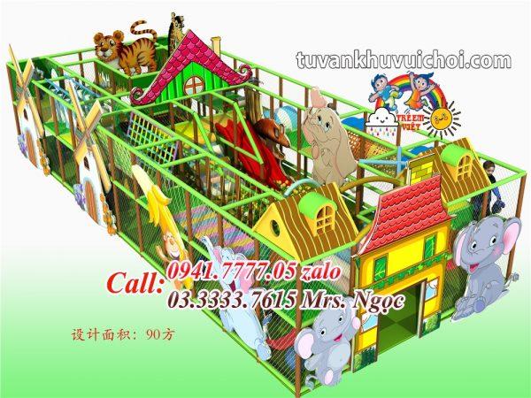 Nhà liên hoàn Rừng Xanh FR-0018