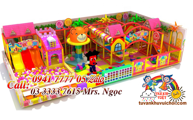 báo giá mô hình khu vui chơi trẻ em