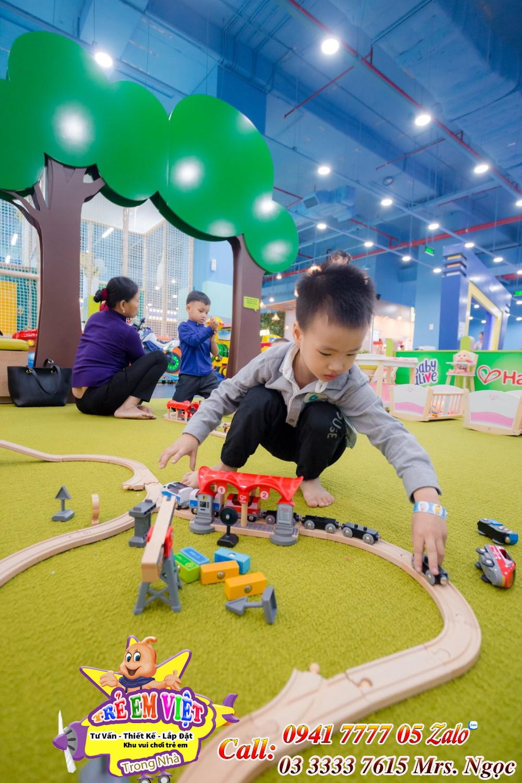 thiết kế khu vui chơi trẻ em