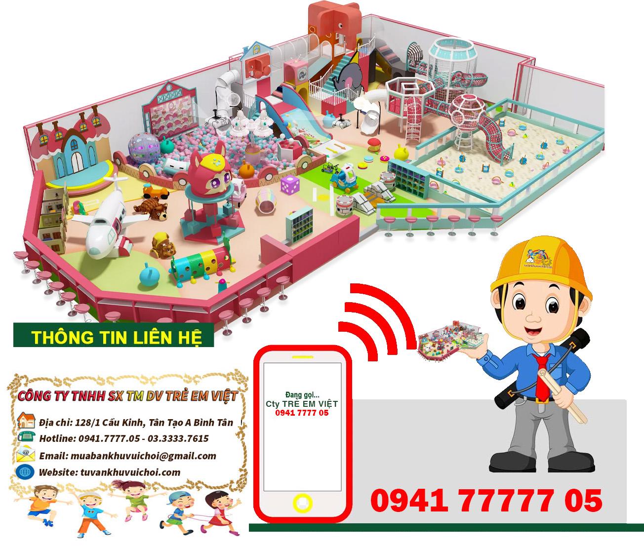 Dự toán khu vui chơi trẻ em