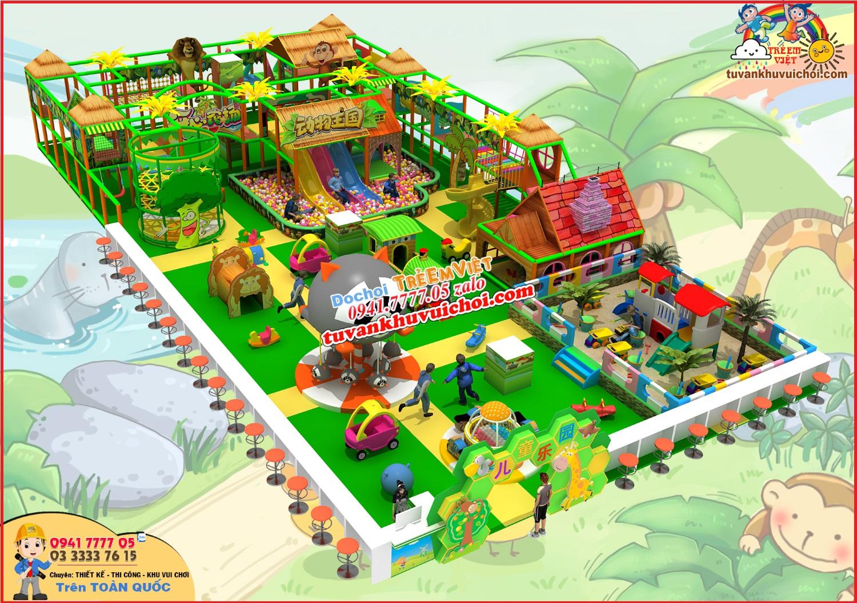 thiết kế mô hình khu vui chơi
