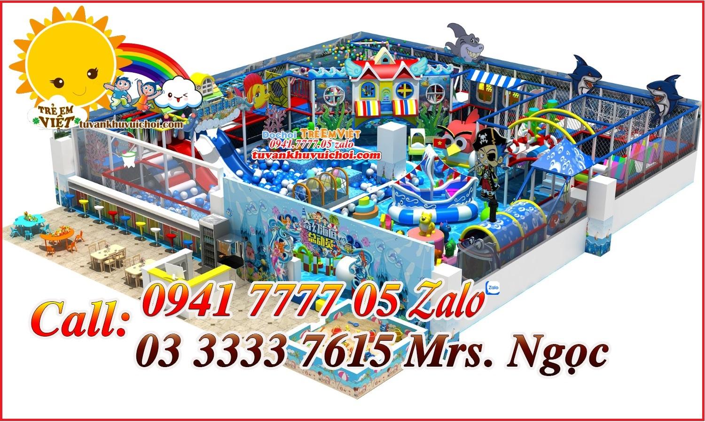 thiết kế mô hình khu vui chơi trẻ em